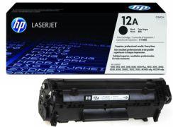 HP 12A Black LaserJet Toner Cartridge - Q2612A