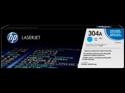 HP 304A Cyan LaserJet Toner Cartridge (CC531A)