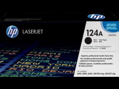 HP 124A Black LaserJet Toner (Q6000A)