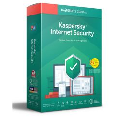 Kaspersky Internet Security 2019 - 1+1 Devices / 1 Year License
