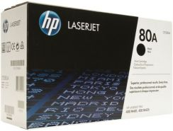 Hp 80a Laserjet Black Toner Print Cartridge - CF280A