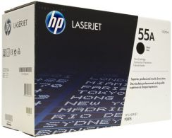 HP 55A Black LaserJet Toner Cartridge CE255A
