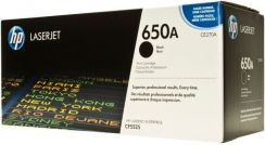 Hp 650A Laserjet Black Toner Print Cartridge CE270A
