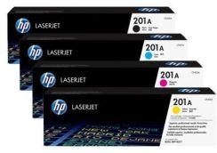 HP 201A LaserJet Toner Set