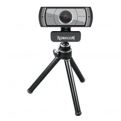Redragon APEX GW900 1080P 30 FPS Webcam with Clip on stand