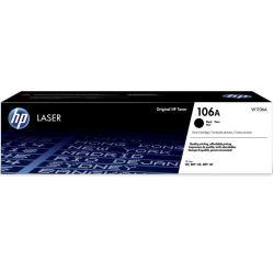 HP 106A Black Laser Toner Cartridge - W1106A