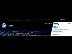 HP 117A Cyan Original Laser Toner Cartridge