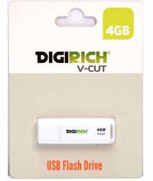 Digirich V-cut USB Flash Drive 4GB