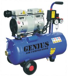 Genius 24 Litres Silent and Oil Free Air Compressor