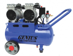 Genius 50 Litres Silent and Oil Free Air Compressor