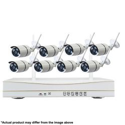 8 channel Wi-Fi IP Camera & NVR