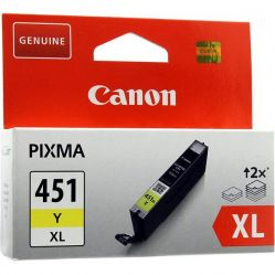 Canon 451XL Yellow Ink Cartridge