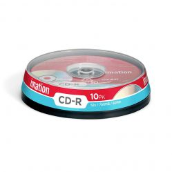 Imation CD-R 10PK 52x / 700MB / 80Min (Spindle)
