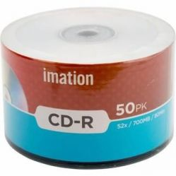 Imation CD-R 50PK 52x / 700MB / 80Min (Bulk)