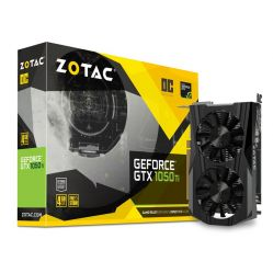 ZOTAC GeForce GTX 1050 Ti OC Edition 4GB GDDR5 Graphics Card
