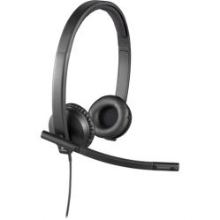 Logitech H570e USB Stereo Headset With NOISE & ECHO CANCELLATION
