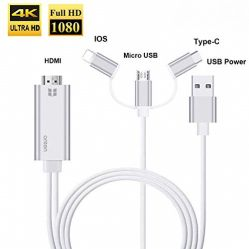 Onten 3 in 1 HDMI Cable Adapter 1080P
