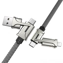 Hoco S22 4-in-1 Charging Cable
