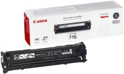 Canon 718 Black Laser Toner Cartridge