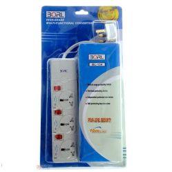 Borl 3-way Power Extension cord