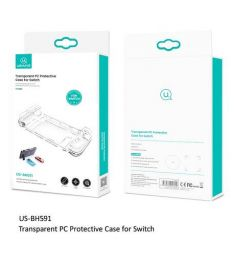 Usams US-BH592 Transparent PC Protective Case For Switch
